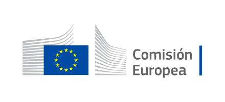 Logo Comisión Europea en España.
