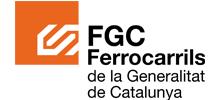 Logo FGC. Ferrocarrils de la Generalitat de Catalunya.