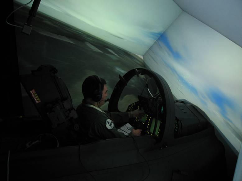 Simulador Asta Eurofighter
