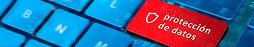 Imagen de cabecera del apartado Protección de datos personales