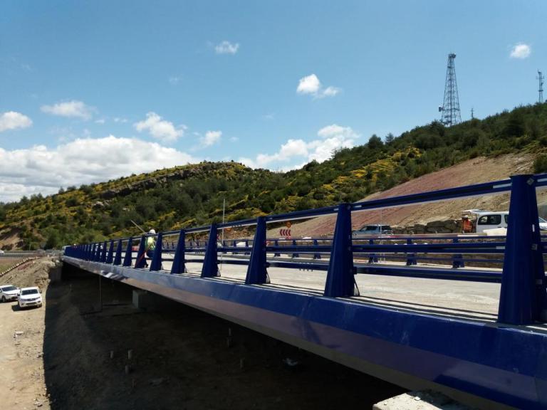 Imagen noticia: Viaducto de la N-330 en el puerto de Monrepós - Ministerio de Fomento.