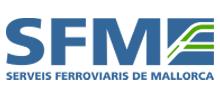 Logo SFM. Serveis Ferroviaris de Mallorca.