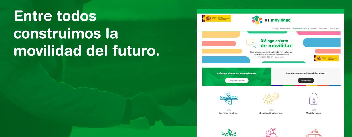 Quinta imagen del carrusel de la portada del Ministerio de Transportes, Movilidad y Agenda Urbana.