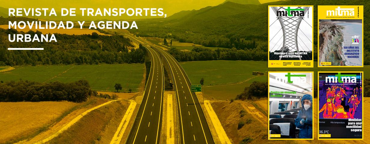 Sexta imagen del carrusel de la portada del Ministerio de Transportes, Movilidad y Agenda Urbana.
