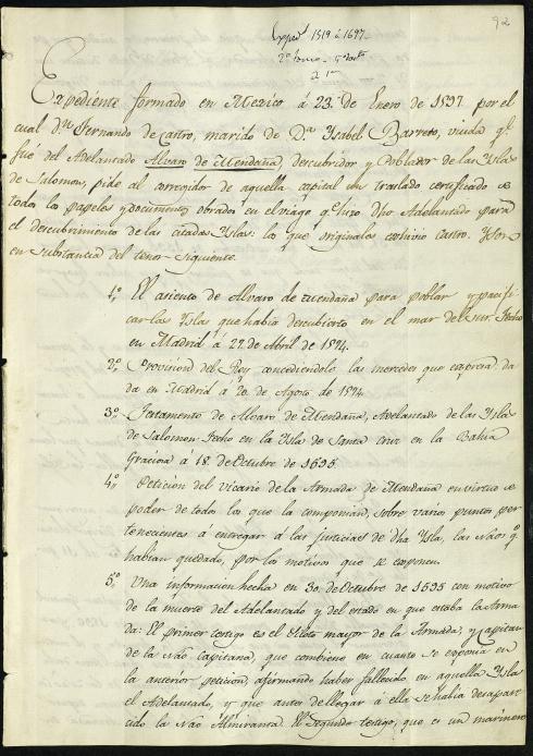 Manuscrito Bibliotreca Virtual de Defensa