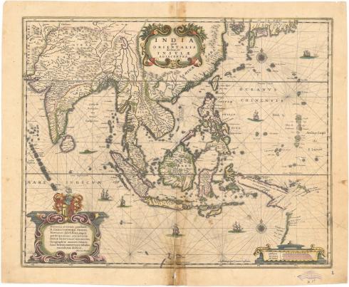 Mapa de las Indias