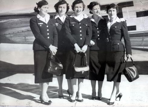 Foto de los tripulantes de cabina de pasajeros de Iberia