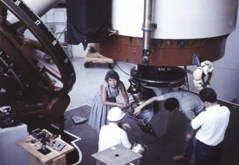 Rubin At Lowell Obs 1965