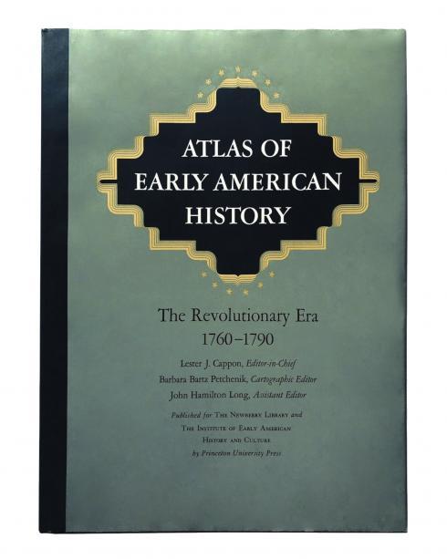 Portada Atlas of early American history