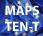 Logotipo de Mapas de la Red Transeuropea de transporte